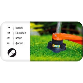 Linka tnąca do podkaszarki, żyłka tnąca - 1,6mm, 15m - okrągła - CELLFAST