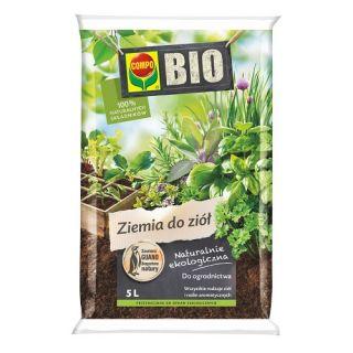 BIO Podłoże do ziół i roślin aromatycznych - Compo - 5 litrów