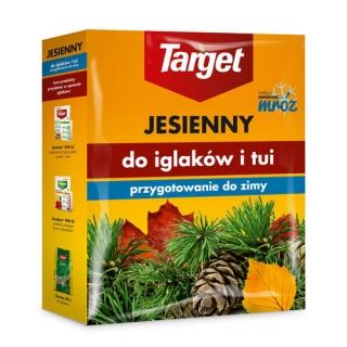 Nawóz jesienny do iglaków - zwiększa mrozoodporność i zimotrwałość iglaków - Target - 1 kg