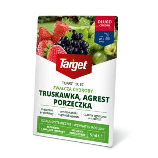 Topas 100 EC - na choroby grzybowe truskawki, porzeczki, agrestu i innych - Target - 5 ml