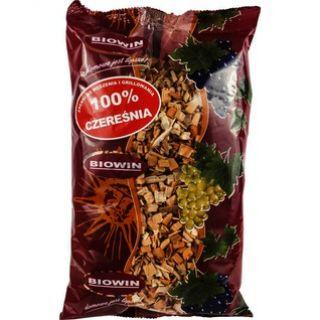Zrębki drzewne do wędzenia i grillowania - 100% czereśnia - 0,45 kg