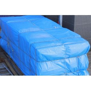 Plandeka - 3 x 5 m - niebieska