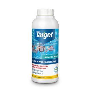Alkasol Flox - skutecznie klaruje wodę basenową - Target - 1 litr