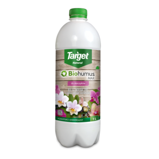 Biohumus MAX-STORCZYK - 100% ekologiczny nawóz - Target - 1 litr