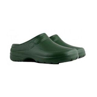 Chodaki męskie lekkie, piankowe - Clog - zielone - rozmiar 42