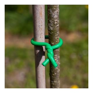 Drut ogrodniczy w miękkiej otulinie - 5 mm x 5 m