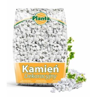 Kamień - grys biały - Bianco Carrara - 12 - 16 mm - Planta - 20 kg