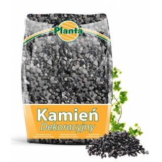 Kamień - grys czarny - Nero Ebano - 12 - 16 mm - Planta - 20 kg