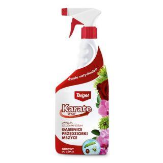 Karate Spray - gotowy do użycia, silny środek na mszyce, gąsienice i inne szkodniki - Target - 750 ml