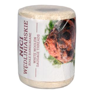 Nici wędliniarskie bawełniane, białe - 250 g - do 240 C