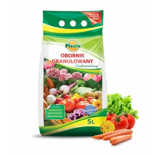 BIO Obornik granulowany - Planta - 5 litrów