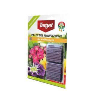 Pałeczki nawozowe do kwitnących roślin domowych i balkonowych - Target - 40 szt.
