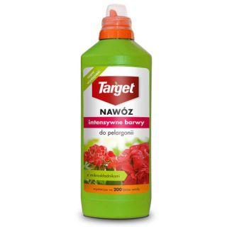 Nawóz w płynie z do pelargonii - Intensywne Barwy - Target - 1 litr