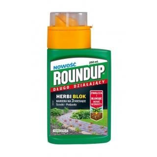Roundup Herbi Block - długo działający - na ścieżki i podjazdy - 250 ml