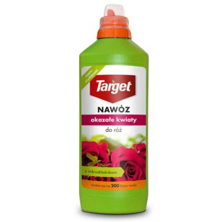 Nawóz w płynie do róż - Okazałe kwiaty - Target - 1 litr