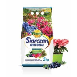Siarczan amonu - nawóz dla wymagających, zakwaszający - Planta - 5 kg