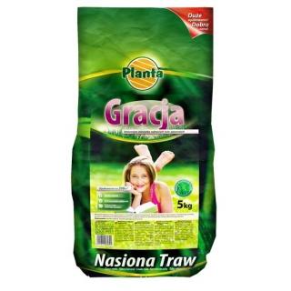 Gracja - mieszanka traw gazonowych o podwyższonych walorach estetycznych - Planta - 5 kg