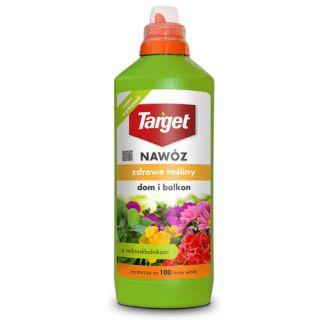 Nawóz w płynie do roślin domowych i balkonowych - Zdrowe Rośliny - Target - 1 litr