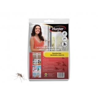 Zasłona magnetyczna przeciw owadom - biała - 160 x 220 cm - Hunter