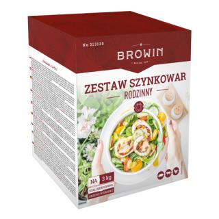 Zestaw do przyrządzania mięs - szynkowar 3 kg, termometr, zioła i worki
