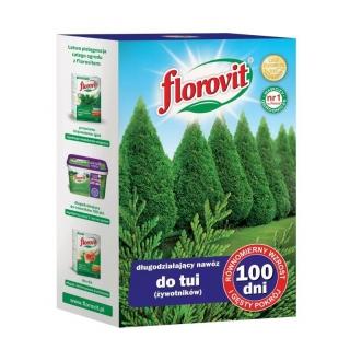 Nawóz 100 dni do tui (żywotników) - Florovit - 1 kg