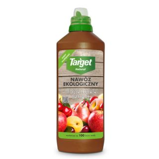 Ekologiczny nawóz do drzew i krzewów owocowych - płynny - Target - 1 litr