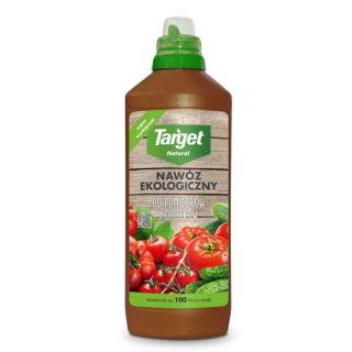 Ekologiczny nawóz do pomidorów i ogórków - płynny - Target - 1 litr