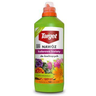Nawóz w płynie do roślin kwitnących - Kolorowe Kwiaty - Target - 1 litr