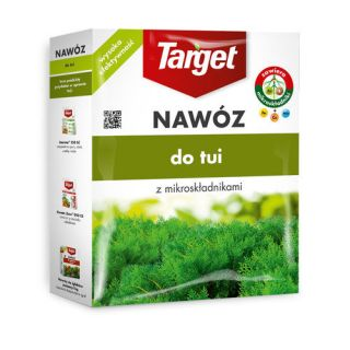 Nawóz do tui - zapobiega brązowieniu igieł i łusek - Target - 4 kg