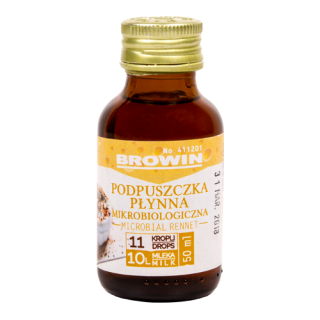 Podpuszczka mikrobiologiczna płynna - 50 ml