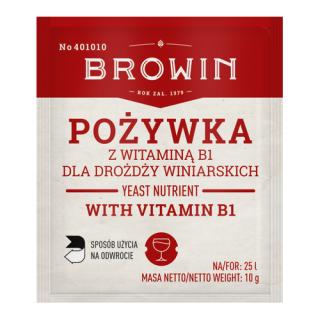 Pożywka dla drożdży winiarskich - z witaminą B - 10 g