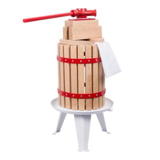 Prasa śrubowa z workiem nylonowym - do wyciskania soku z owoców - 6 litrów
