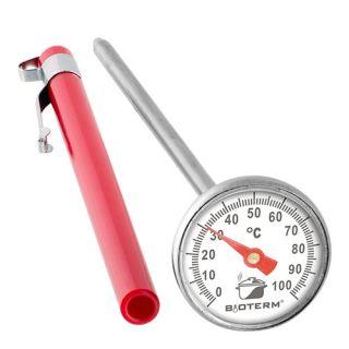 Termometr kulinarny do pieczenia, wędzenia, gotowania 0-100 C - 140 mm