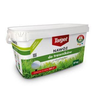 Nawóz do trawników z mikroskładnikami - Target - 8 kg