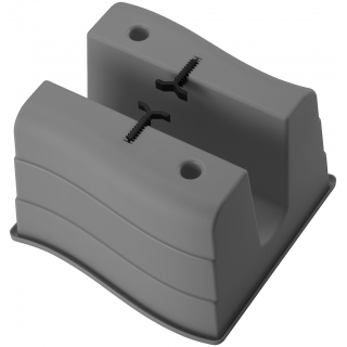 Donica balustradowa Wave - 30 cm - antracyt