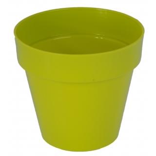 Osłonka okrągła Ibiza - 12 cm - pistacjowa