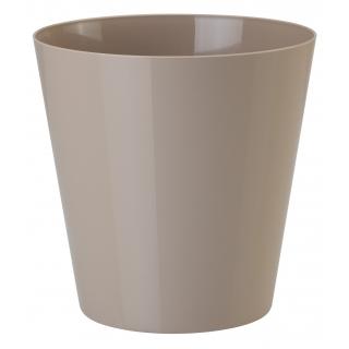 Osłonka okrągła Vulcano - 11 cm - beżowa (cafe latte)