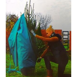 Pokrowiec na choinkę z zamkiem - turkusowy