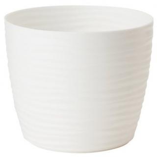 Osłonka okrągła Sahara petit - 11 cm - biała