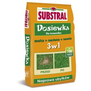Dosiewka do trawnika - wystarcza na 100 ubytków - Substral - 10 litrów