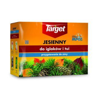 Nawóz jesienny do iglaków - zwiększa mrozoodporność i zimotrwałość iglaków - Target - 4 kg