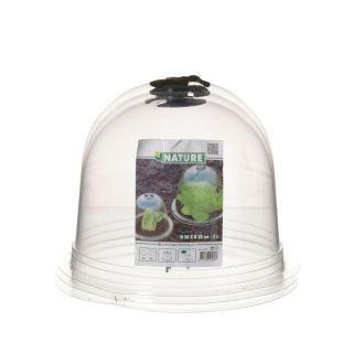 Szklarenka - klosz - do ochrony przed nagłymi przymrozkami - 33 x 31 cm - 3 szt.