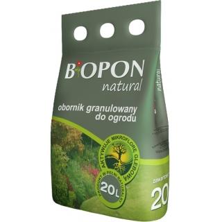 Obornik granulowany do ogrodu - Biopon - 5 litrów