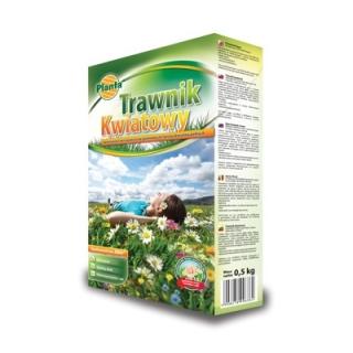 Trawnik kwiatowy - mieszanka traw gazonowych oraz kwiatów - 0,9 kg