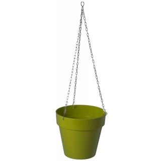 Osłonka okrągła wisząca Ibiza - 16 cm - pistacjowa