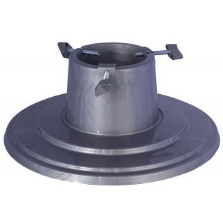 Stojak do choinek Orbit - 39,5 cm - srebrny