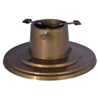 Stojak do choinek Orbit - 39,5 cm - złoty