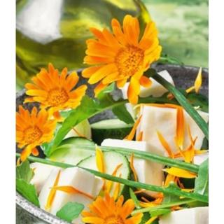 Kwiaty Jadalne - Nagietek lekarski - pomarańczowy