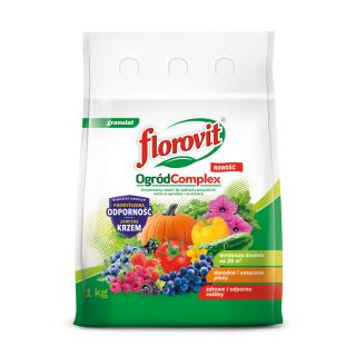 Ogród Complex - uniwersalny nawóz do ogrodu - Florovit - 1 kg
