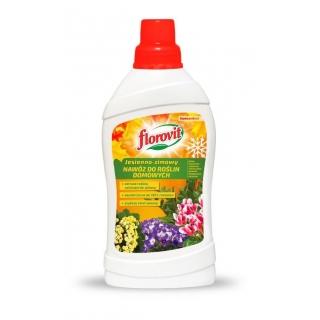Nawóz jesienno-zimowy do roślin domowych - wspomaga odporność na przesuszenie - Florovit - 1 l